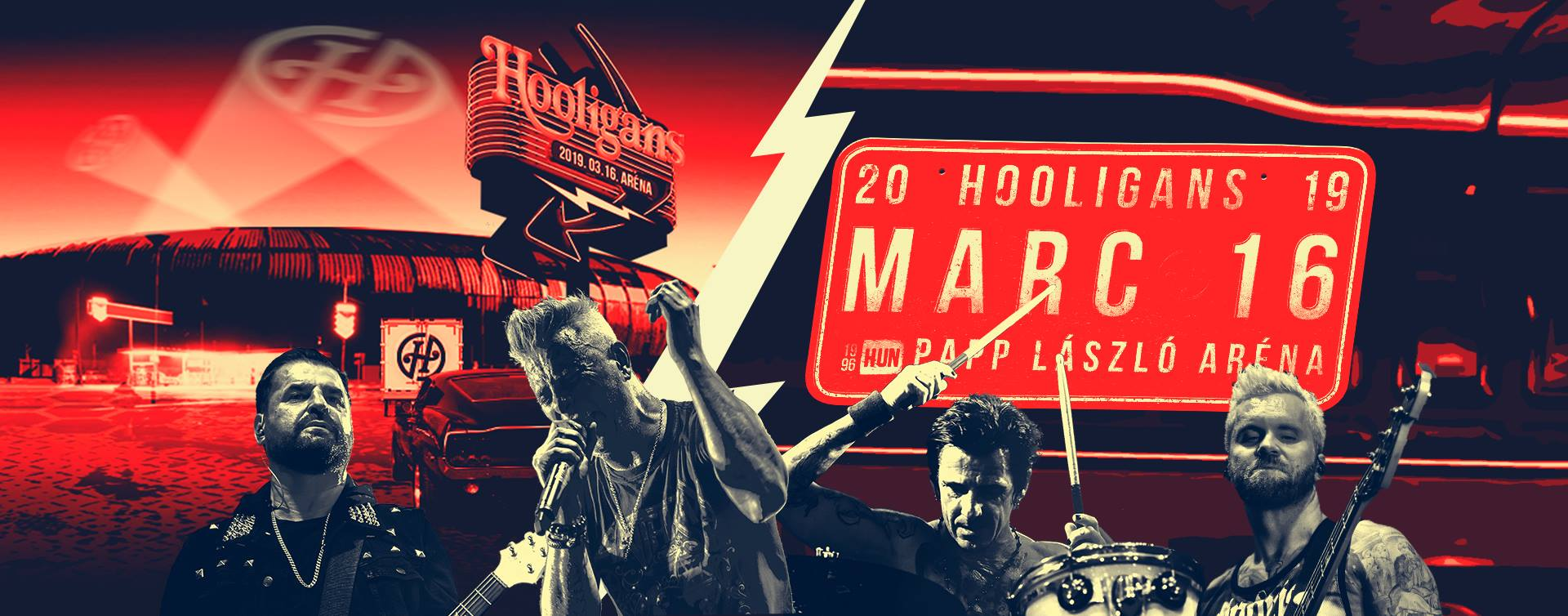 Hooligans koncert 2019 - Budapest Aréna