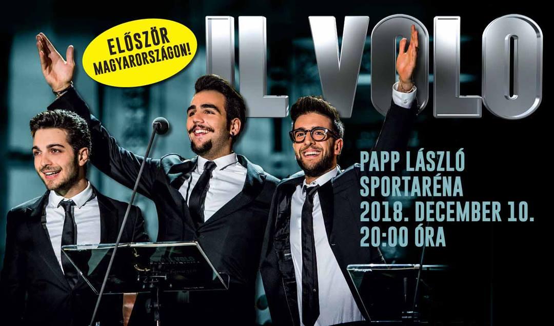Il Volo koncert Budapesten