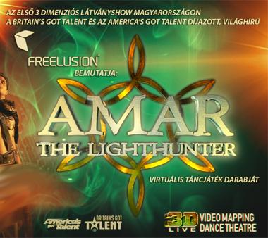 Amar, the lighthunter - 3D virtuális táncjáték
