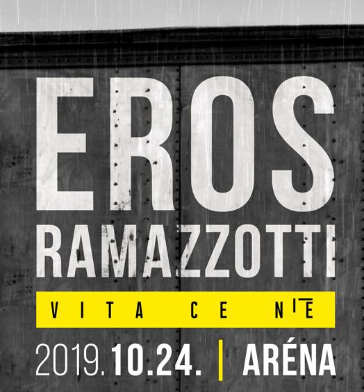 Eros Ramazzotti koncert 2019 - Papp László Budapest Sportaréna