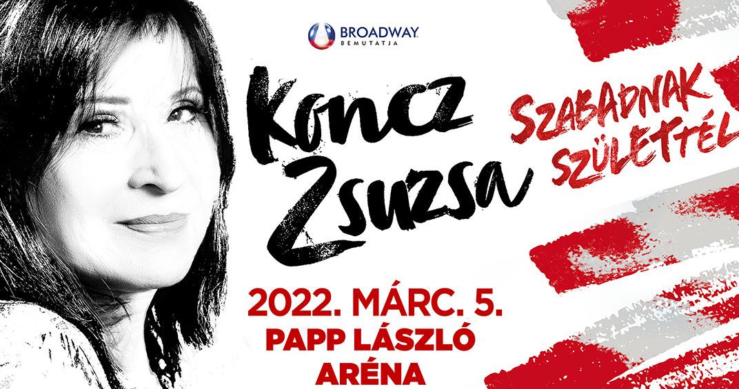 Koncz Zsuzsa koncert 2020