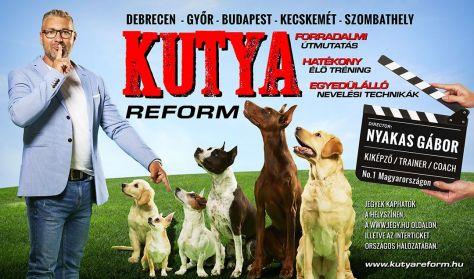 KUTYAREFORM - a Cesar Millan show magyar szakmai referensének előadása