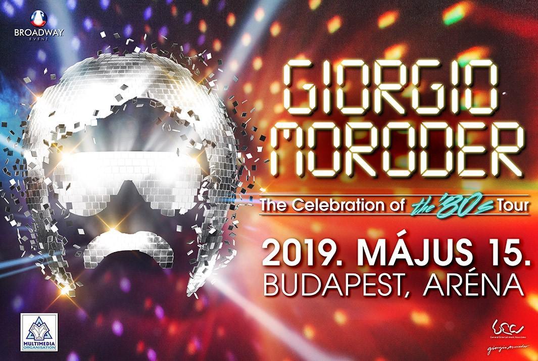 Giorgio Moroder koncert 2019 - Budapest Aréna