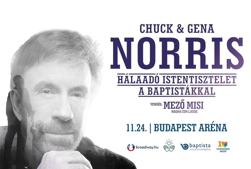 CHUCK NORRIS - Hálaadó ünnep - Cipősdoboz gála