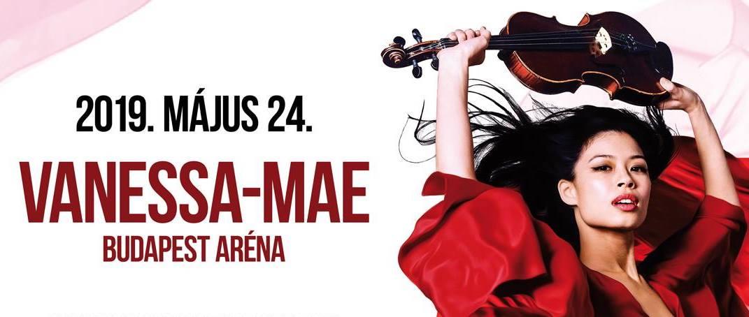 Vanessa Mae koncert 2019 - Budapest Aréna