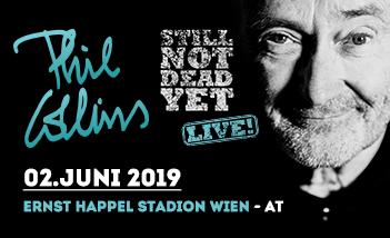 Phil Collins koncert 2019
