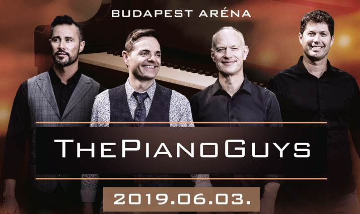 The Piano Guys koncert 2019 - Budapest Sportaréna