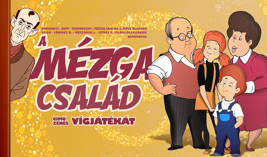 Mézga család musical - Budapest - MOM Központ
