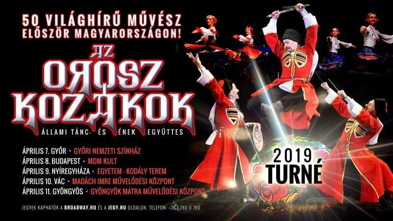 Kozákok Orosz Állami Táncegyüttes és Énekegyüttes