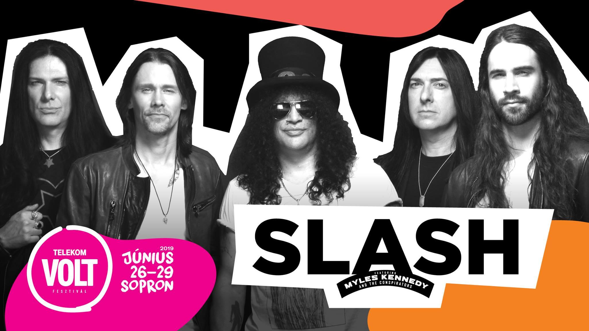 Slash koncert 2019