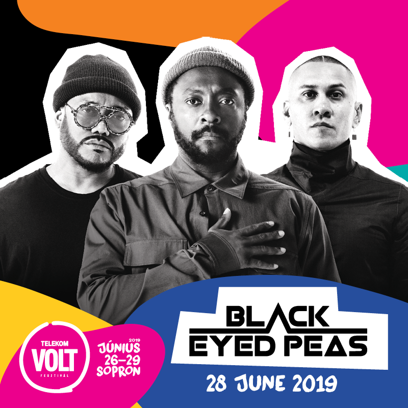 The Black Eyed Peas koncert 2019