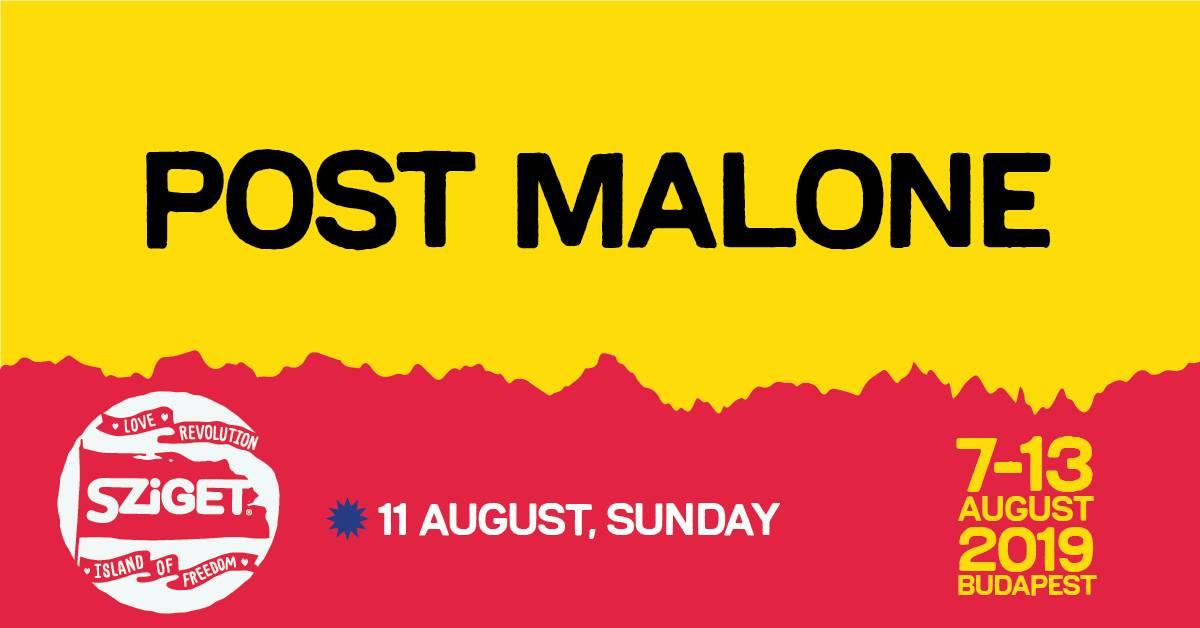 Post Malone koncert 2019