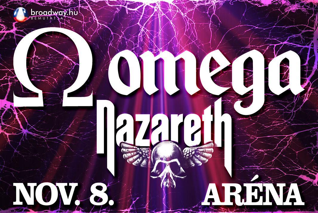 Omega - Nazareth koncert 2019
