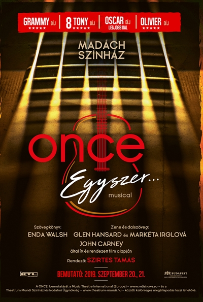 Once / Egyszer musical