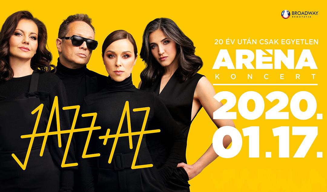 JAZZ+AZ koncert 2020 - Aréna