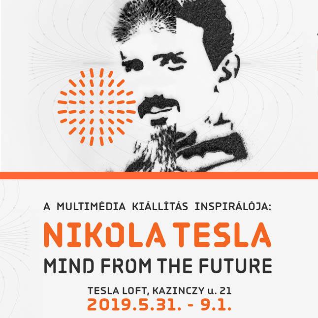 Multimédia kiállítás - Nikola Tesla - Mind from the Future - Budapest