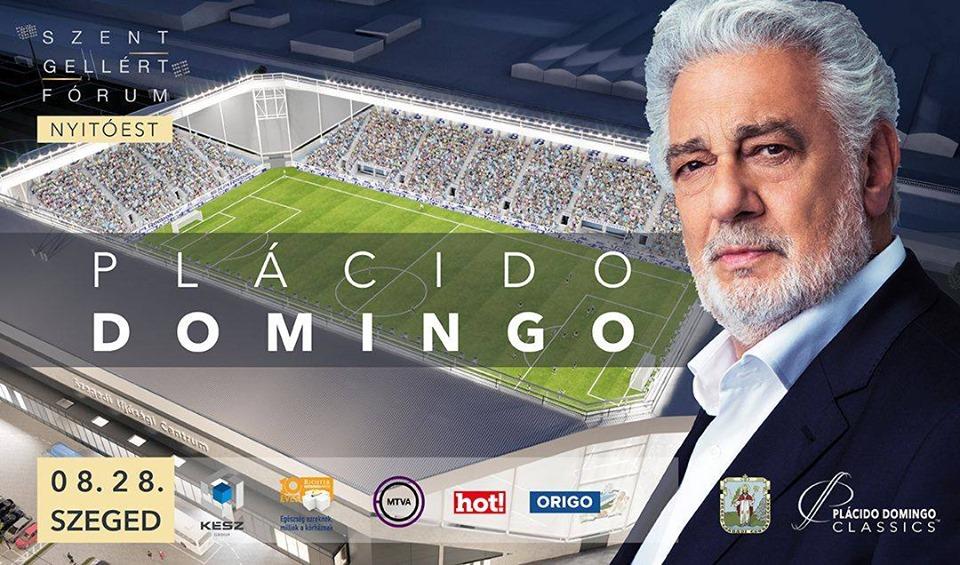 Plácido Domingo koncert vonat
