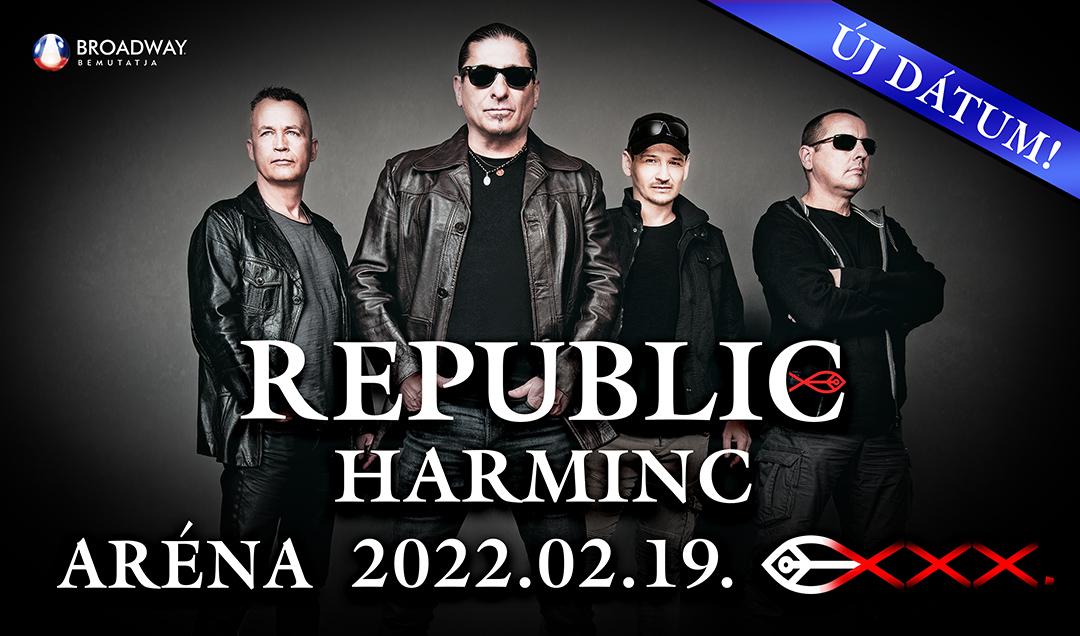 Republic koncert 2020 - Budapest Aréna