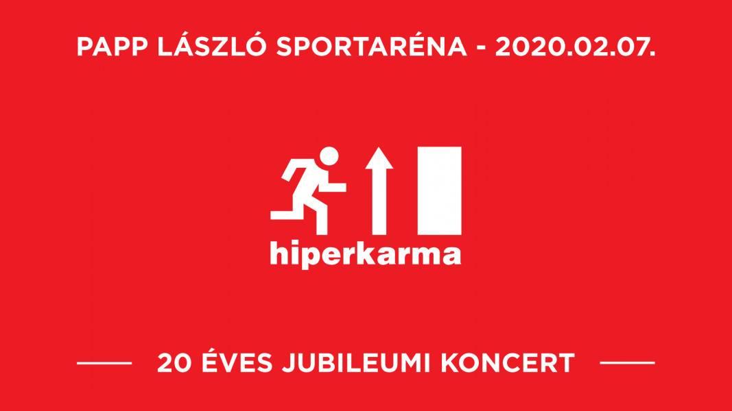 Hiperkarma 20 koncert - Budapest Aréna