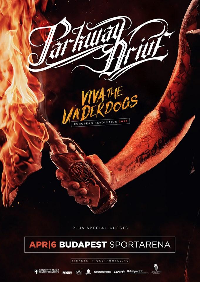 Parkway Drive koncert Magyarországon