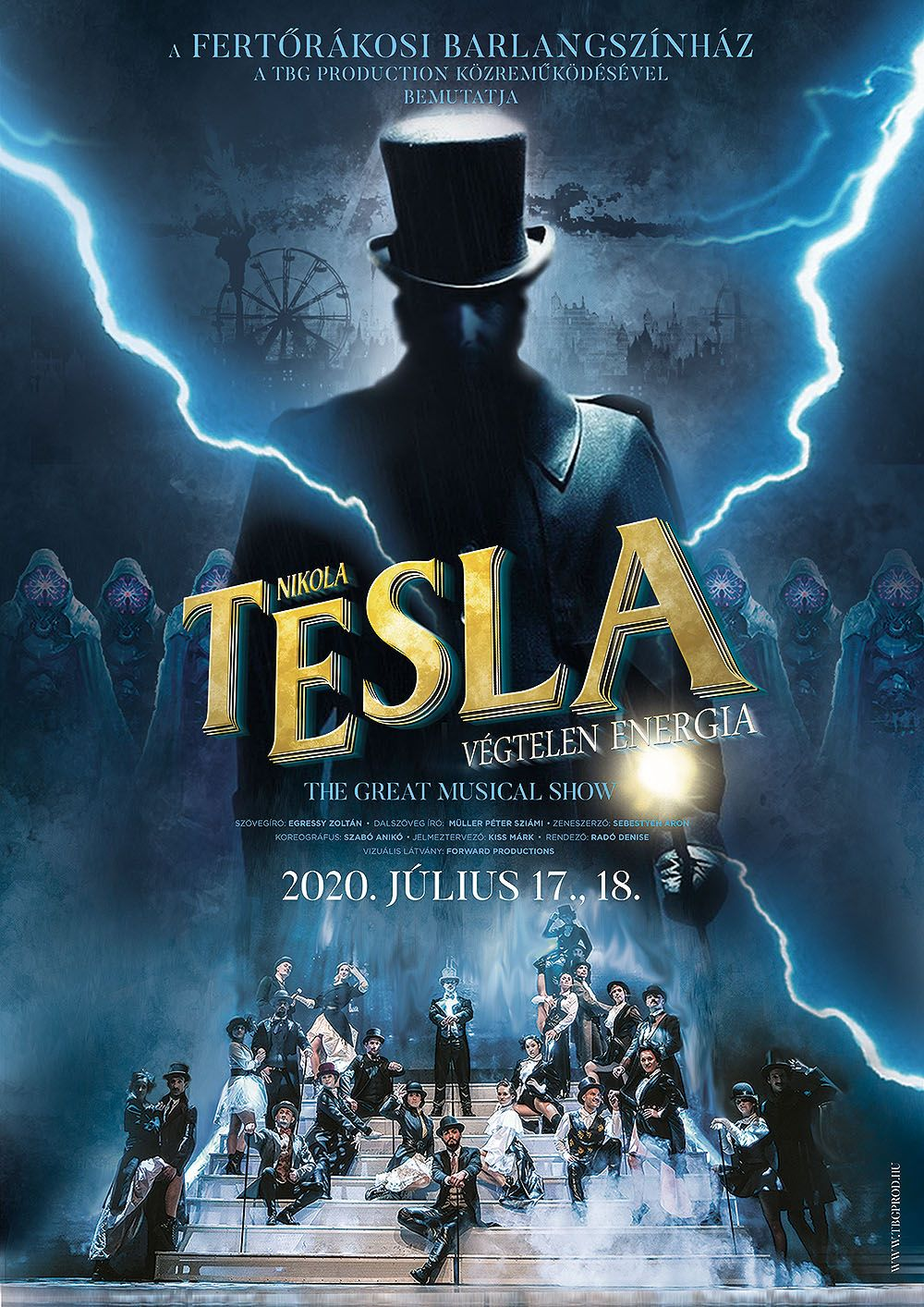 Nikola Tesla musical - RAM Colosseum