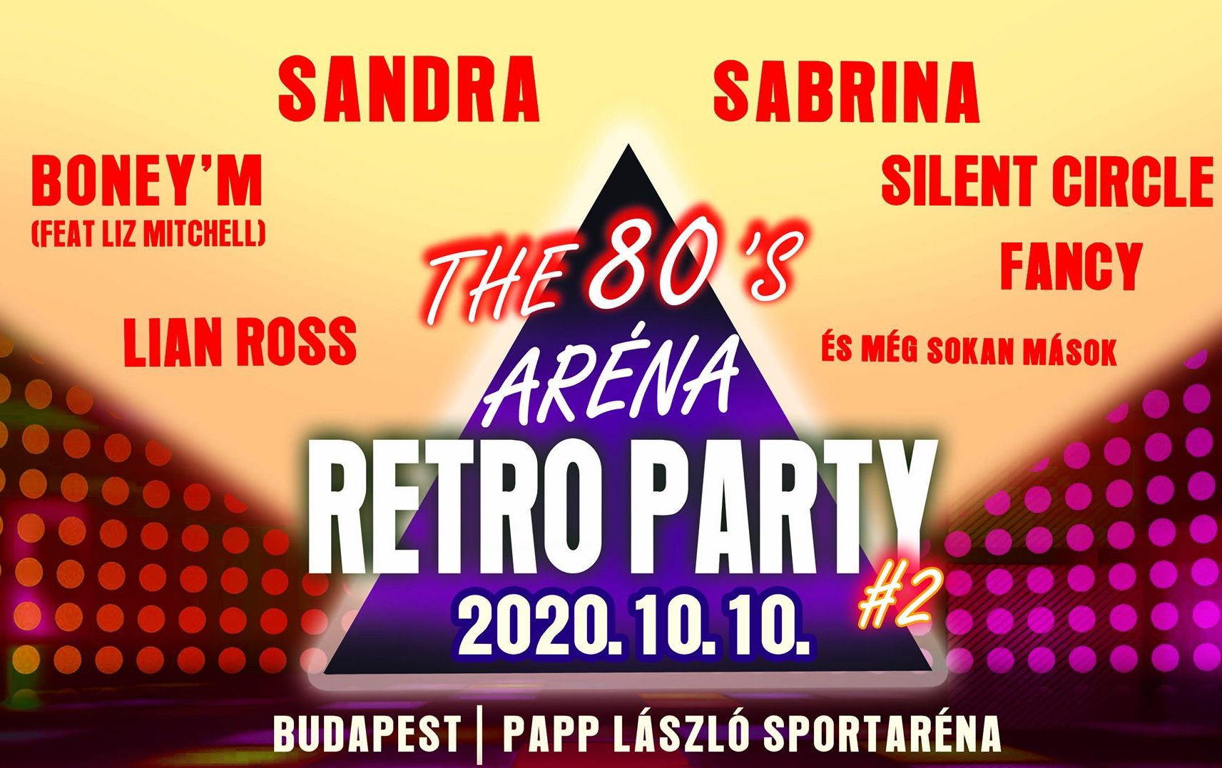 Aréna Retró Party 2020