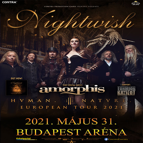 Nightwish koncert Budapesten