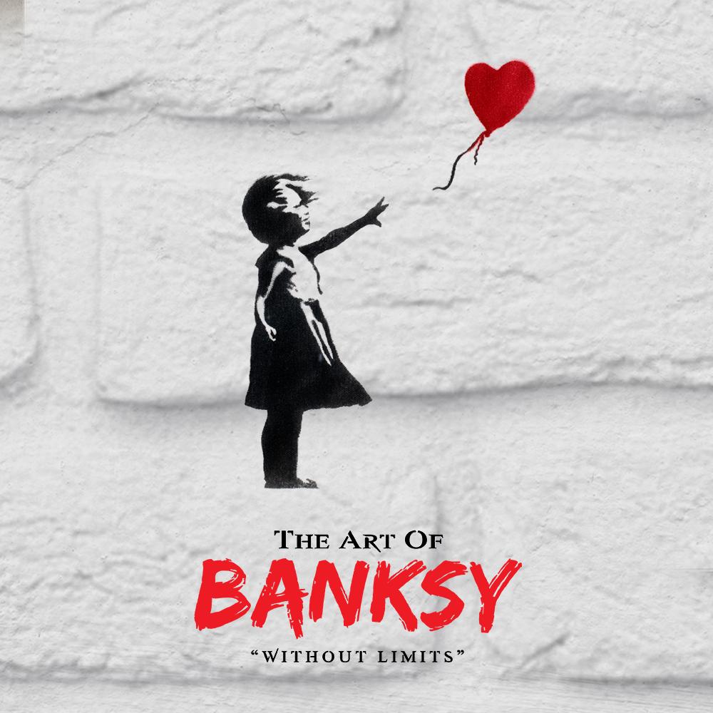 Banksy kiállítás 2020 - The Art of Banksy: Without Limits
