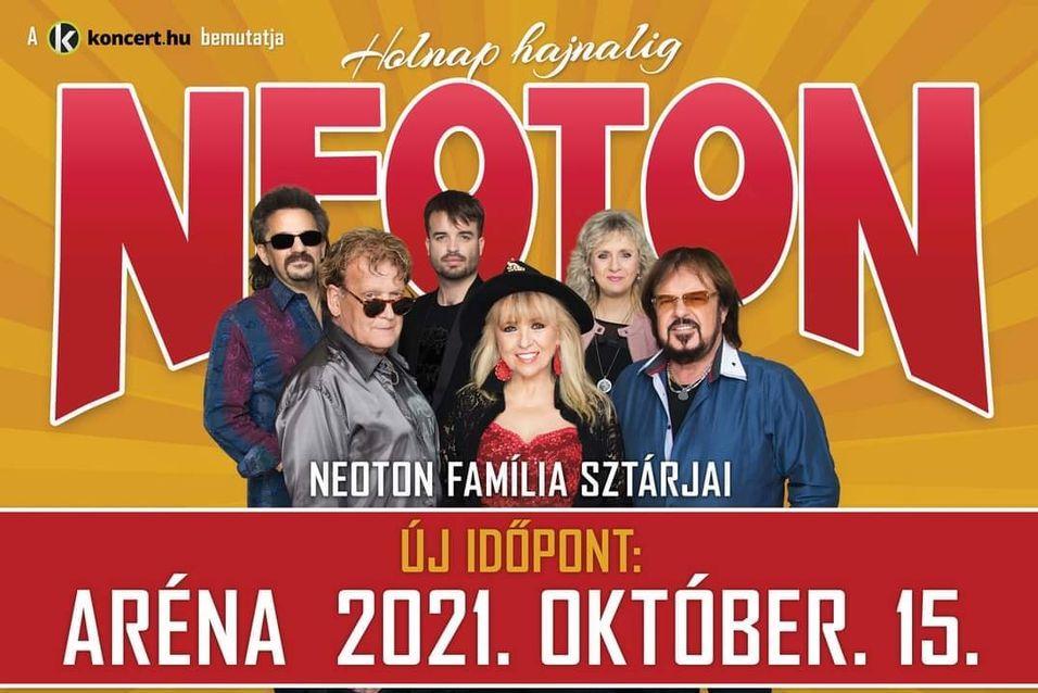 Neoton koncert 2021 - Budapest Aréna