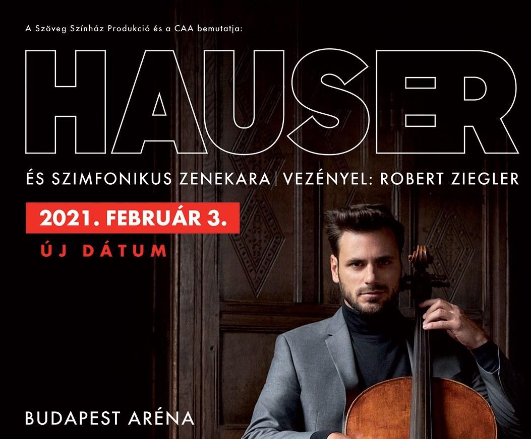 Hauser koncert 2021 - Budapest Aréna