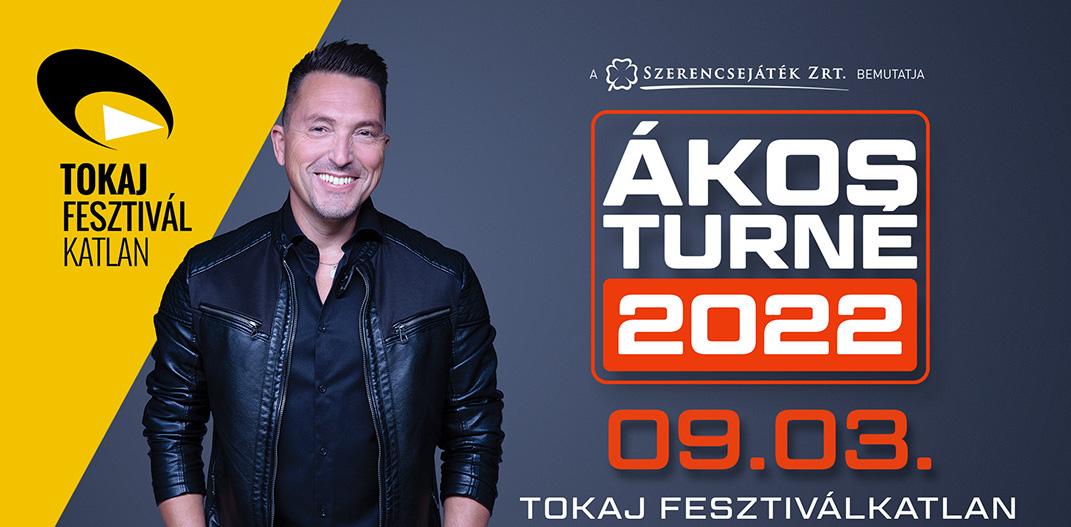 Ákos koncert 2021 - Tokaj