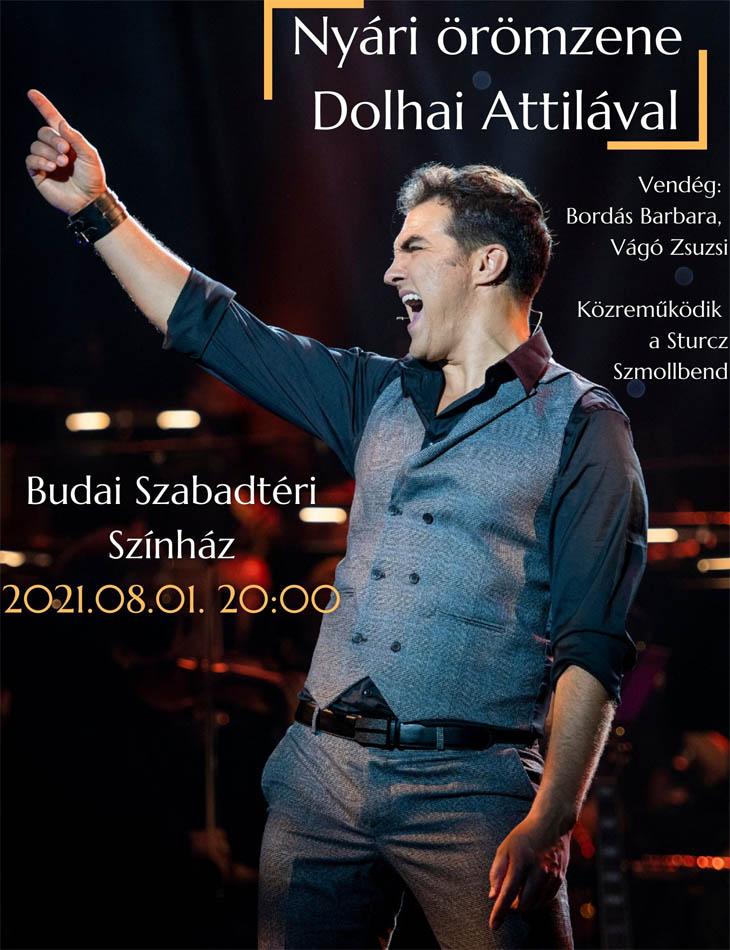 Dolhai Attila - zenekaros koncert