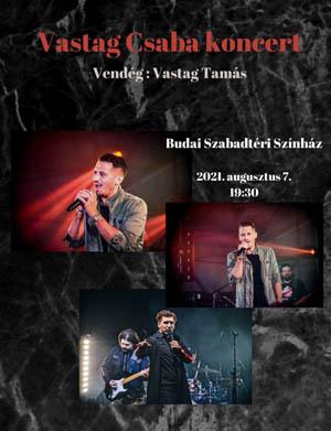 Vastag Csaba koncert
