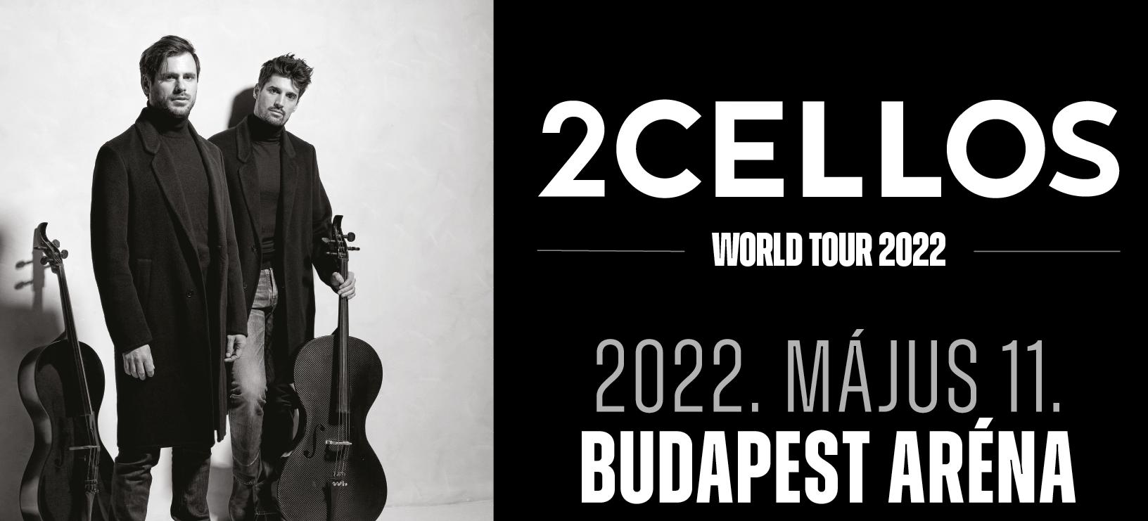 2cellos koncert 2022 - Budapest Aréna