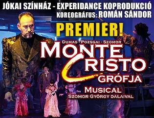 Monte Cristo grófja musical