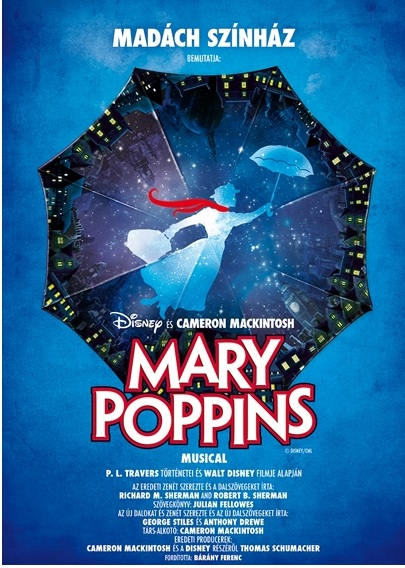 Mary Poppins musical Madách Színház