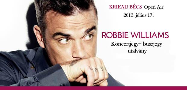 Robbie Williams Take The Crown koncert